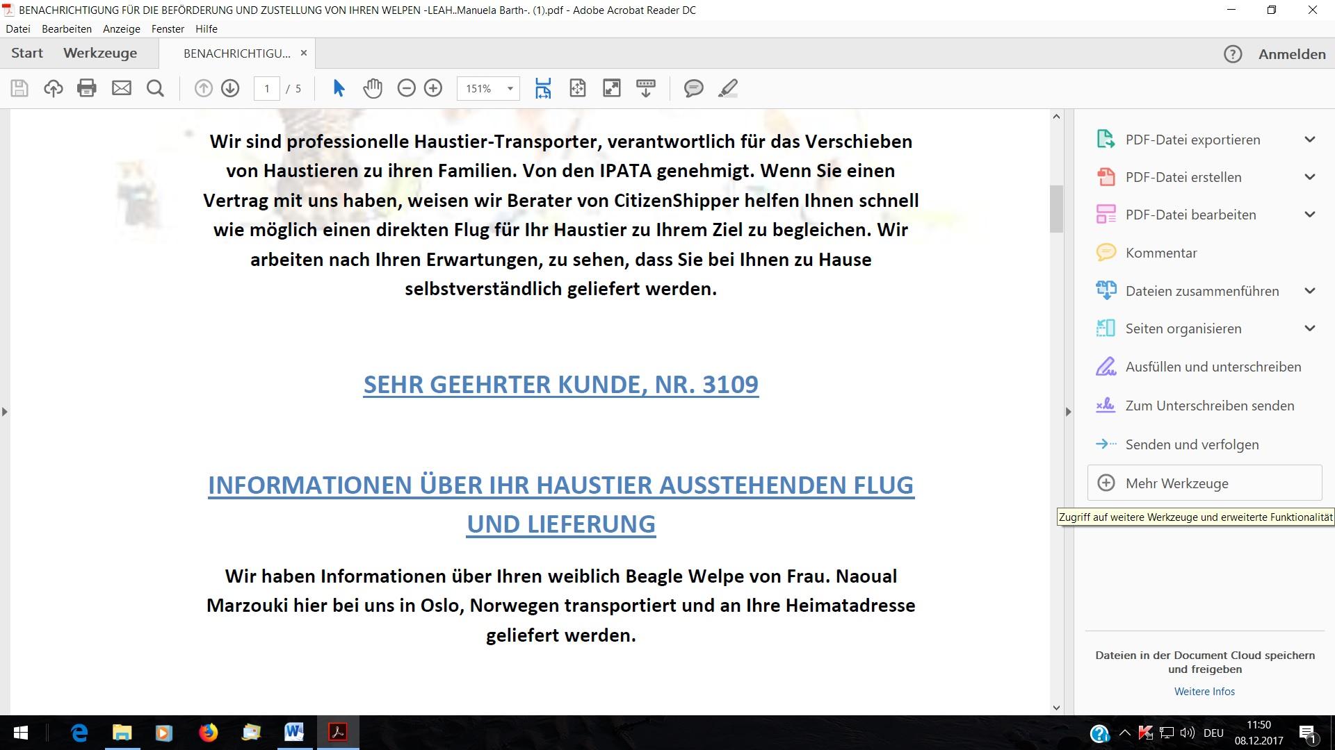 Ich denke nicht das, dass Problem bei meinem AG liegt, sondern ehr bei der Deutschen Bank, da ich ja sonst mein Geld auch immer pünktlich auf dem Konto hatte.